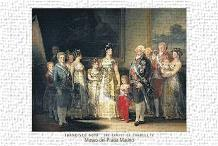 Charles IV art print poster transferred to canvas