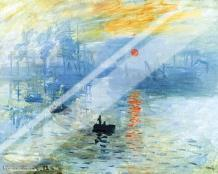 Sunrise 1872 art print poster with laminate