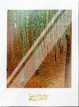 Beechwood Forest art print poster with laminate