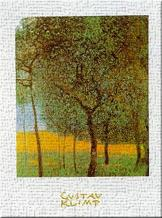Fruit Trees art print poster transferred to canvas