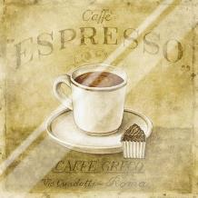 Caffe Expresso art print poster with laminate