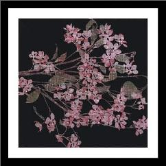 Blossom Branch, 2005 art print poster with simple frame