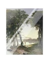 Early Morning At Cold Spring, 1850 art print poster with laminate