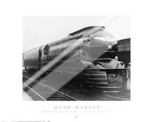 Pennsylvania Railroad art print poster with laminate