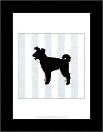 Pumi In Neutral art print poster with simple frame