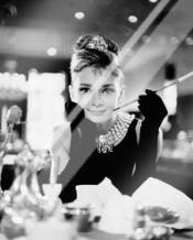 Audrey Hepburn - Breakfast At art print poster with laminate