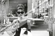 Audrey Hepburn - Window art print poster with laminate
