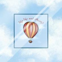 Up, Up And Away art print poster with laminate