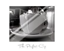 Perfect Cup art print poster with laminate