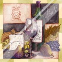Chianti art print poster with laminate
