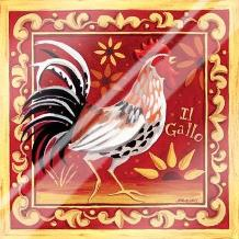 Il Gallo I art print poster with laminate