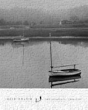 Two Sailboats, Cape Cod art print poster transferred to canvas
