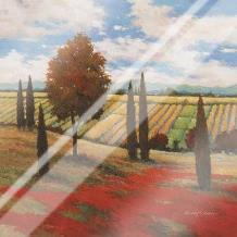 Chianti Country I art print poster with laminate