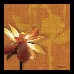 Efflorescence I art print poster with simple frame