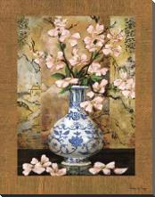 Ming Vase II art print poster with block mounting
