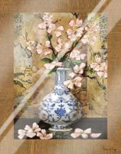 Ming Vase II art print poster with laminate