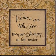 Women Are Like art print poster with block mounting