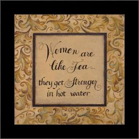 Women Are Like art print poster with simple frame