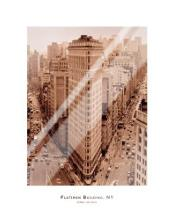 Flatiron Building, New York art print poster with laminate