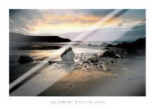 Whistling Sands, Gwynedd art print poster with laminate