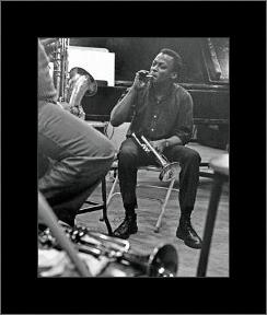 Miles Davis - New York Session art print poster with simple frame