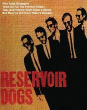 Reservoir Dogs - Five Strangers art print poster transferred to canvas