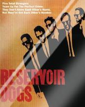 Reservoir Dogs - Five Strangers art print poster with laminate