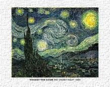 Van Gogh - Starry Night art print poster transferred to canvas