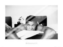 Muhammad Ali - Massage art print poster with laminate