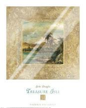 Treasure Isle 1 art print poster with laminate