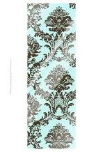 Small Vivid Damask In Blue II art print poster with laminate