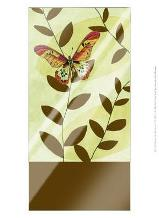 Butterfly Whimsey I art print poster with laminate