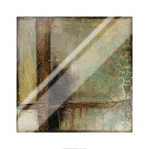 Patina Abstract II art print poster with laminate