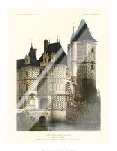 Petite French Chateaux XII art print poster with laminate