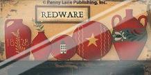 Redware art print poster with laminate