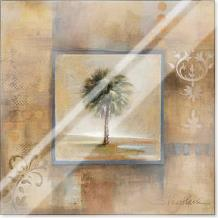 Sunlit Palmetto I 12X12 art print poster with laminate