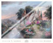 Brighton Manor art print poster with laminate