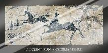 Ancient Run art print poster with laminate