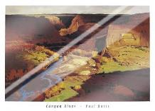 Canyon River art print poster with laminate