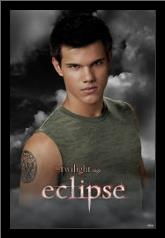 Twilight Eclipse art print poster with simple frame