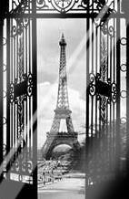 La Tour Eiffel art print poster with laminate