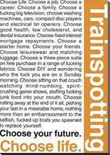Trainspotting Quotes art print poster with block mounting