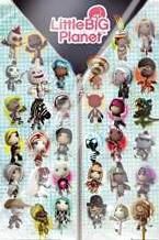 Little Big Planet Compilation art print poster with laminate