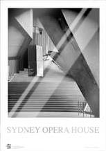 Sydney Opera House 1 art print poster with laminate