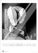 Sydney Opera House 4 art print poster with laminate