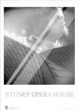 Sydney Opera House 7 art print poster with laminate