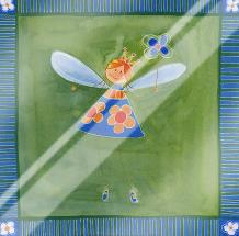 Fairies II art print poster with laminate
