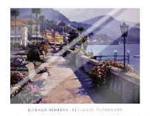 Bellagio Promenade art print poster with laminate