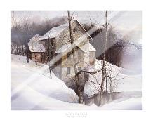Winter Mill art print poster with laminate