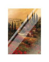 Toscano Valley II art print poster with laminate